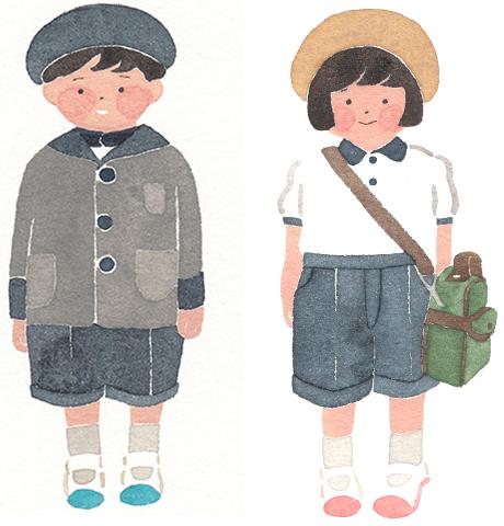 清泉幼稚園の制服